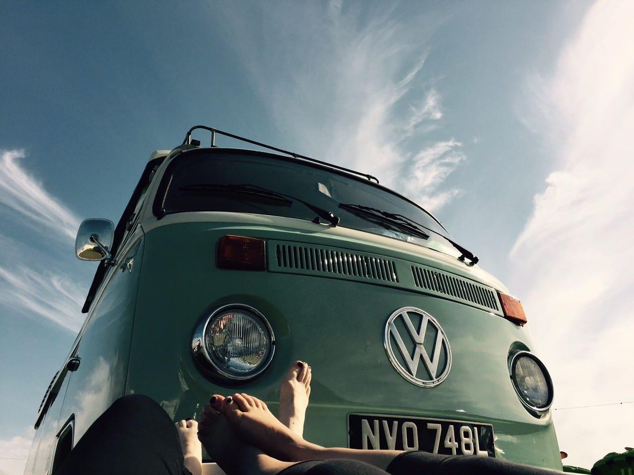 driving a vw camper London