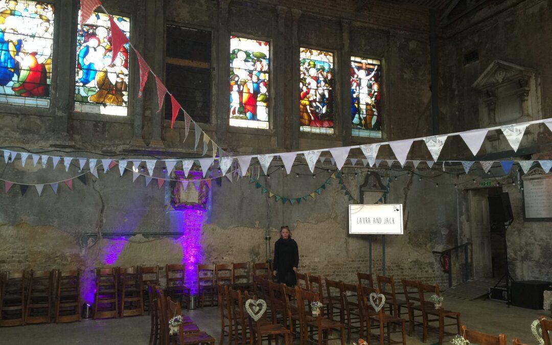 The Asylum – a mesmerising, quirky London wedding venue