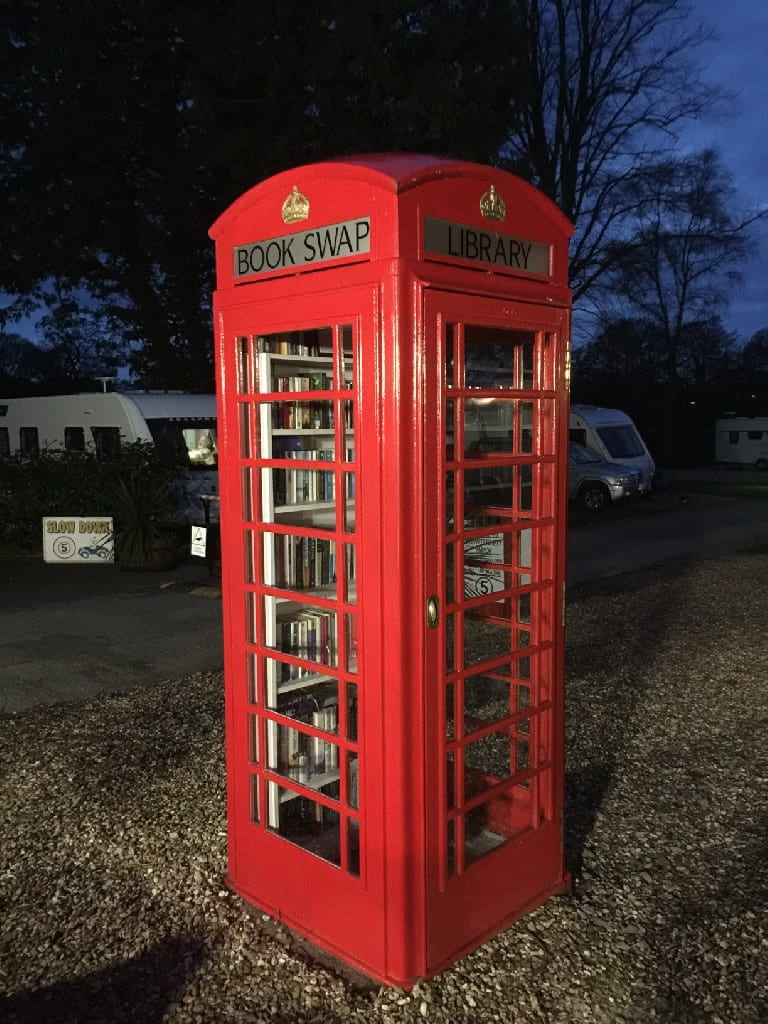 South Llytchett Manor Book Swap