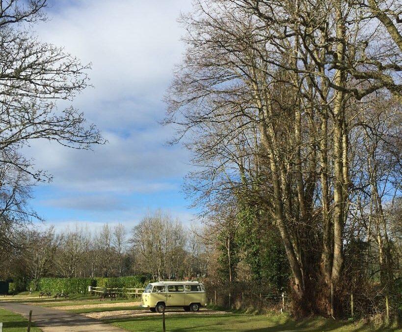 Classic VW Camper London to Dorset camping trip