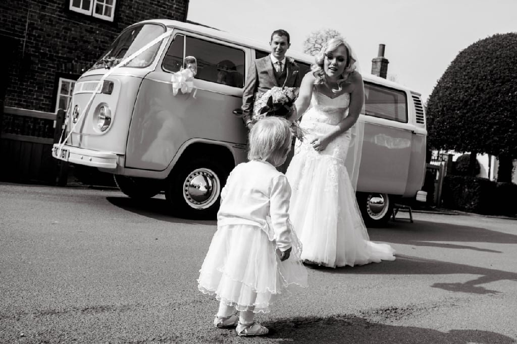 VW Camper Surrey Wedding Car