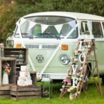vw campervan wedding car hire in surrey