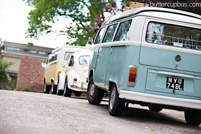 VW Campervan wedding Surrey London Sussex Kent