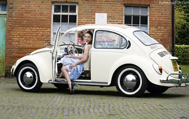 Beetle Wedding Car Surrey