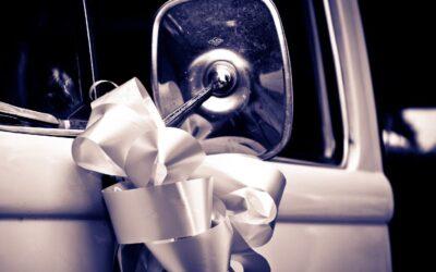 How to make a wedding car bow using florist ribbon