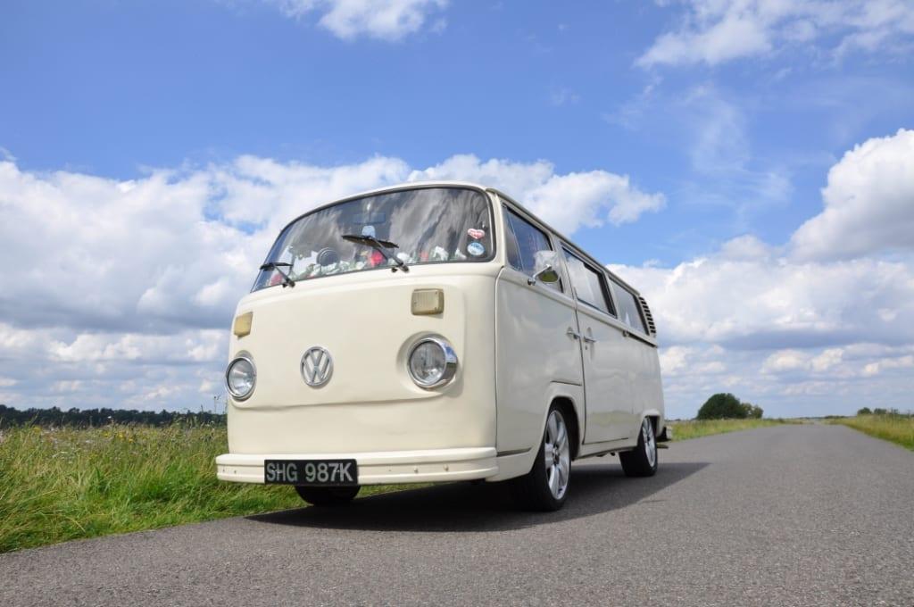 Wedding VW Camper London