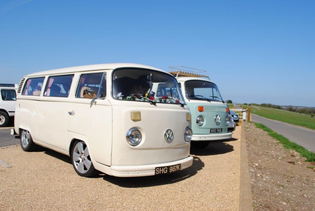 Buttercup Bus VW Camper Hire London
