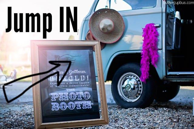 VW Camper photobooth surrey