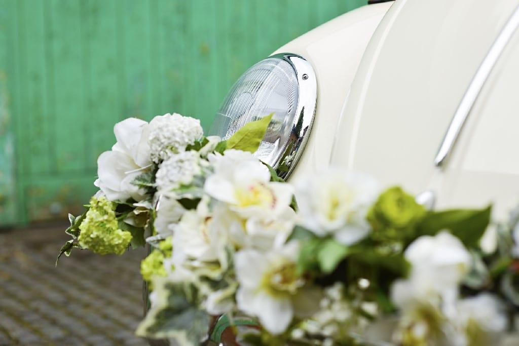 wedding vw campers and beetle