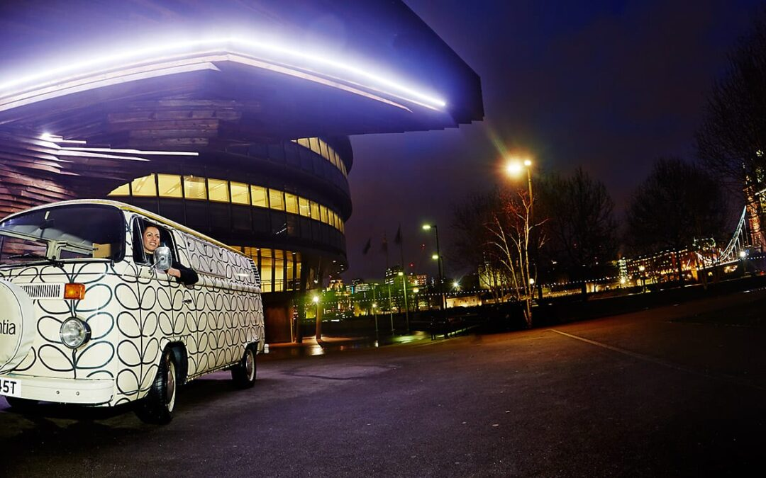 VW Camper Promotional Hire – branding turns heads on a corporate gig!