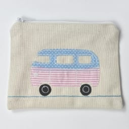 pink campervan purse gift shop