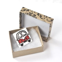 red-camper-brooch