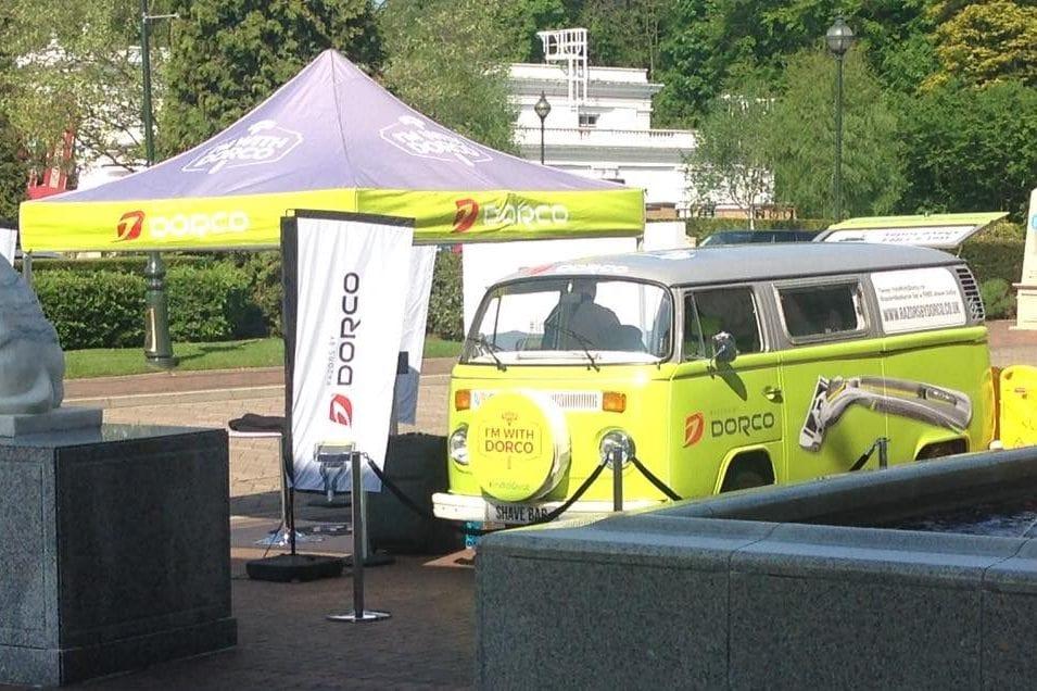 VW Camper on national promotional tour