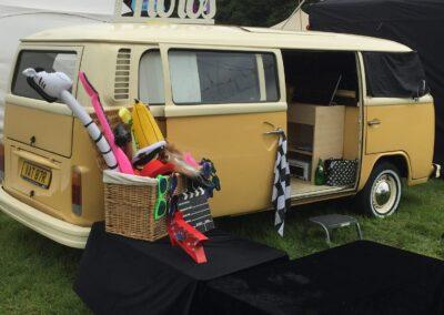 vw camper photobooth