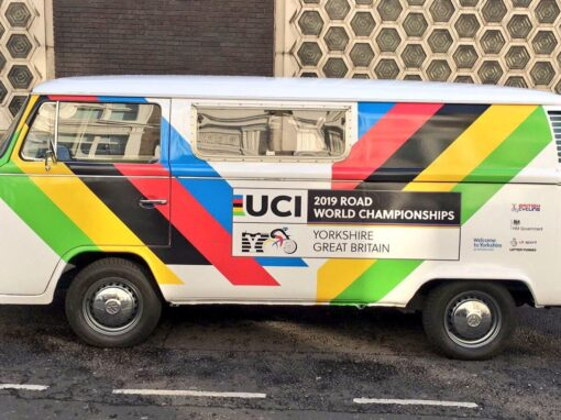 Lord Mayor's Show – Branded Campervan for Welcome To Yorkshire
