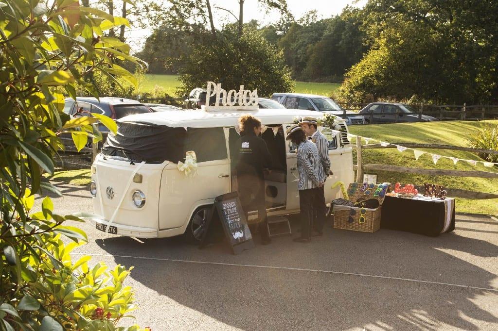 campervan photobooth in Surrey