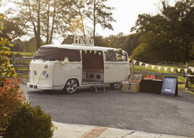 Meta Slider - HTML Overlay - VW Camper photobooth 8