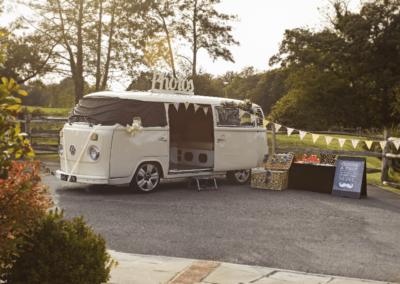 Meta Slider - HTML Overlay - VW Camper photobooth 8