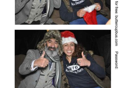 Xmas Surrey Campervan Photoboth for promotional event