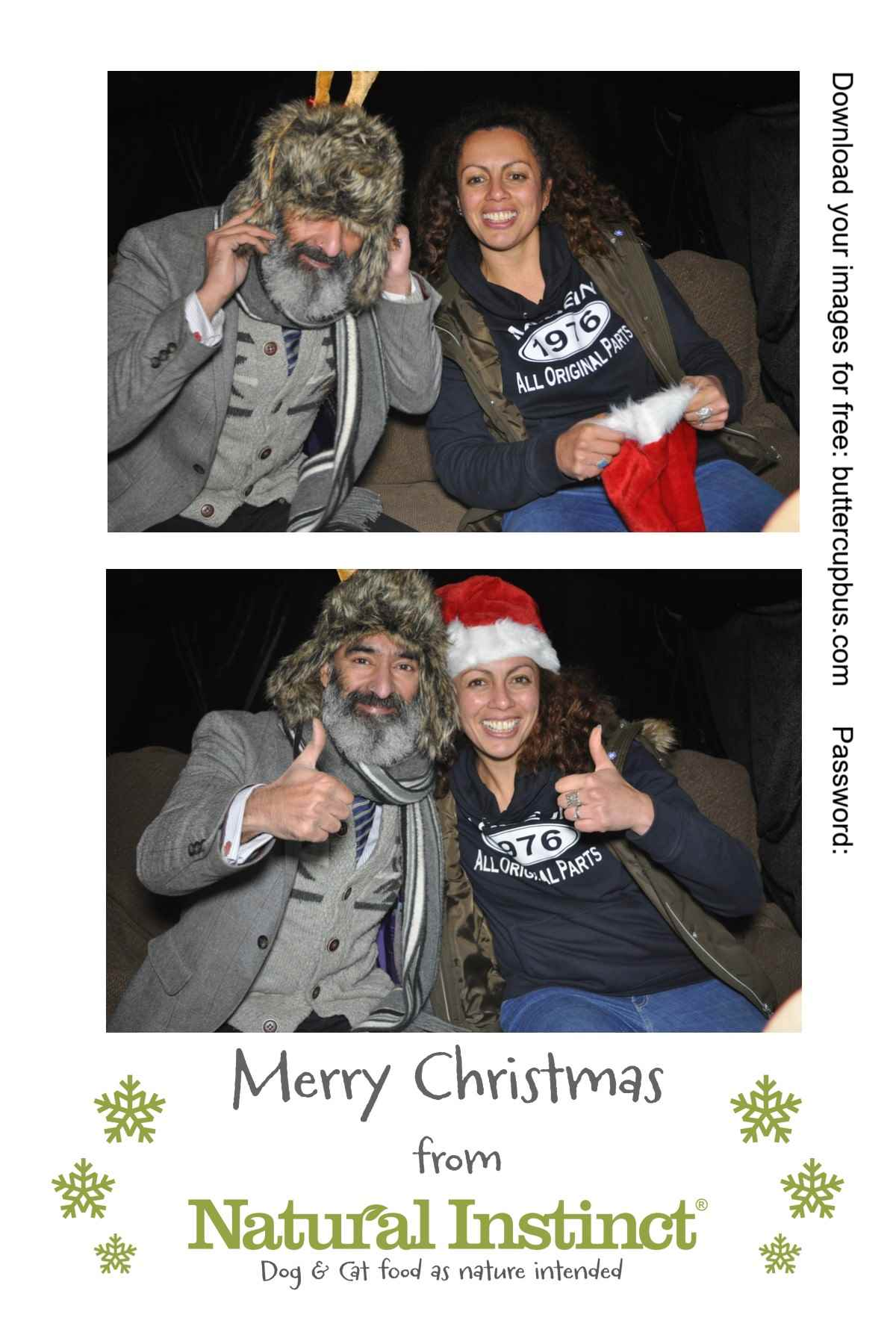 Xmas Surrey Campervan Photobooth