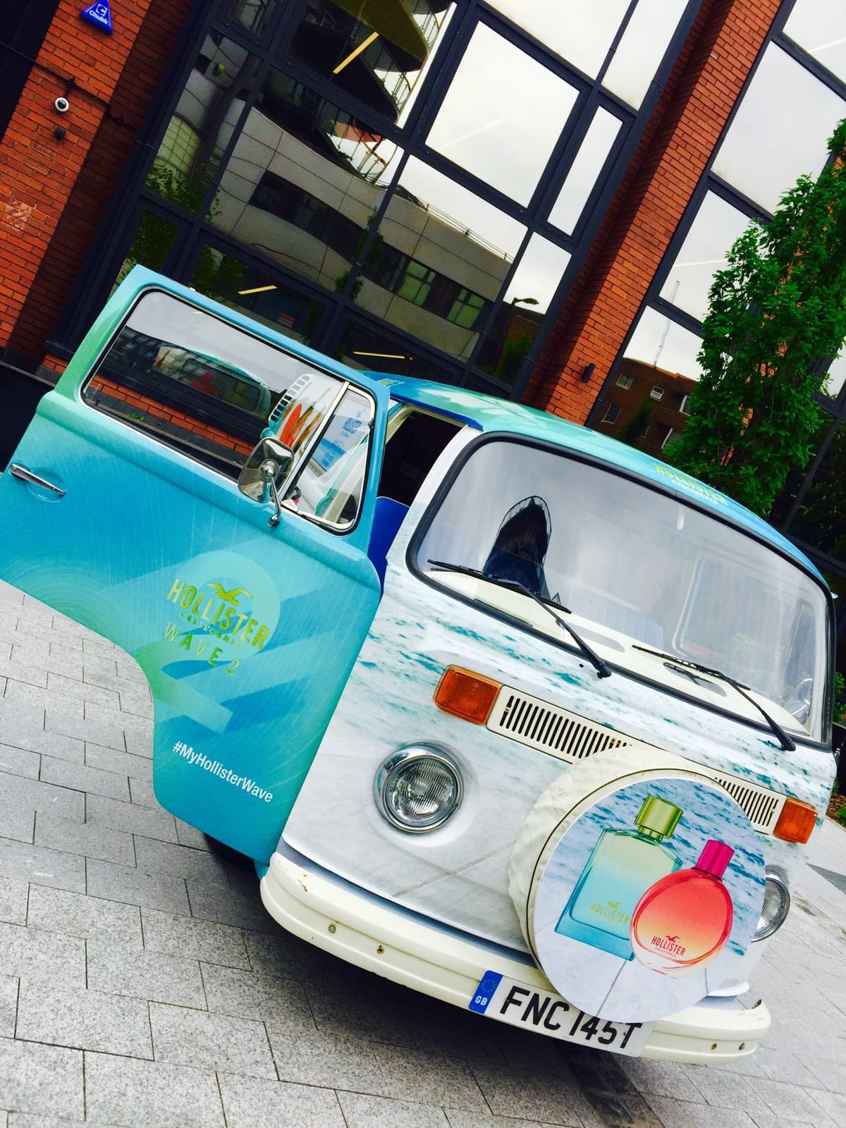 Branded promotional VW Camper