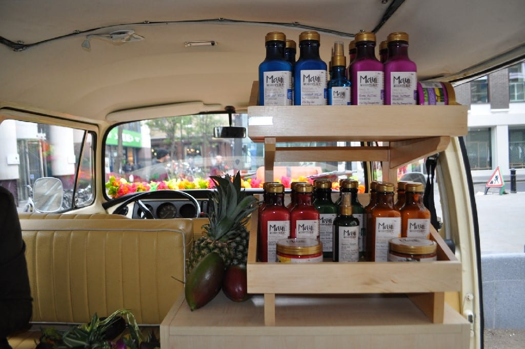 Branded campervan product launch