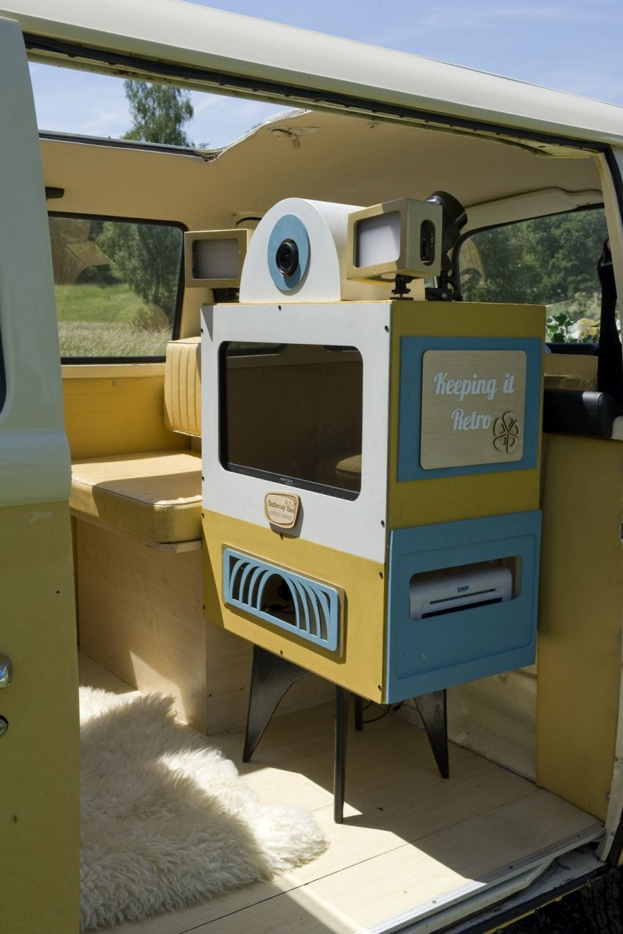 Campervan Photobooth in Woking