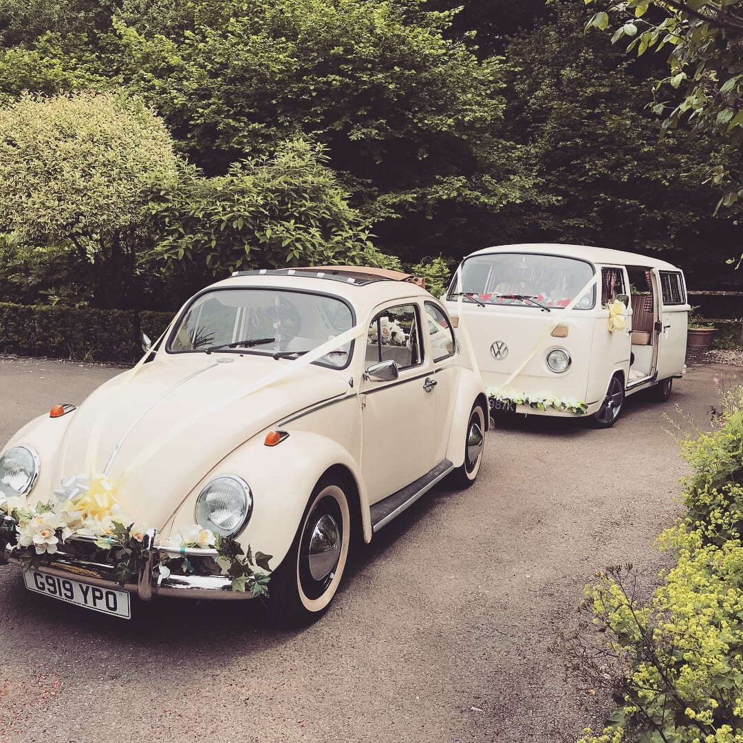 CAmpervan wedding car hire Surrey London Kent and Sussex