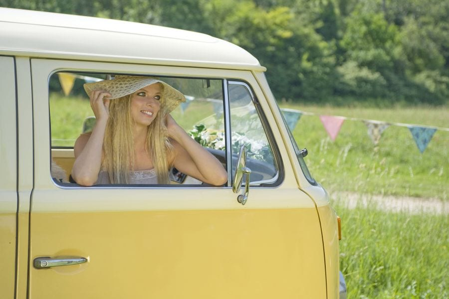What is it like to drive a retro vw camper? - Buttercup Bus
