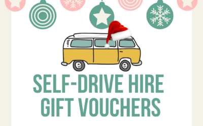 Campervan gift vouchers for Xmas – classic VW Camper hire