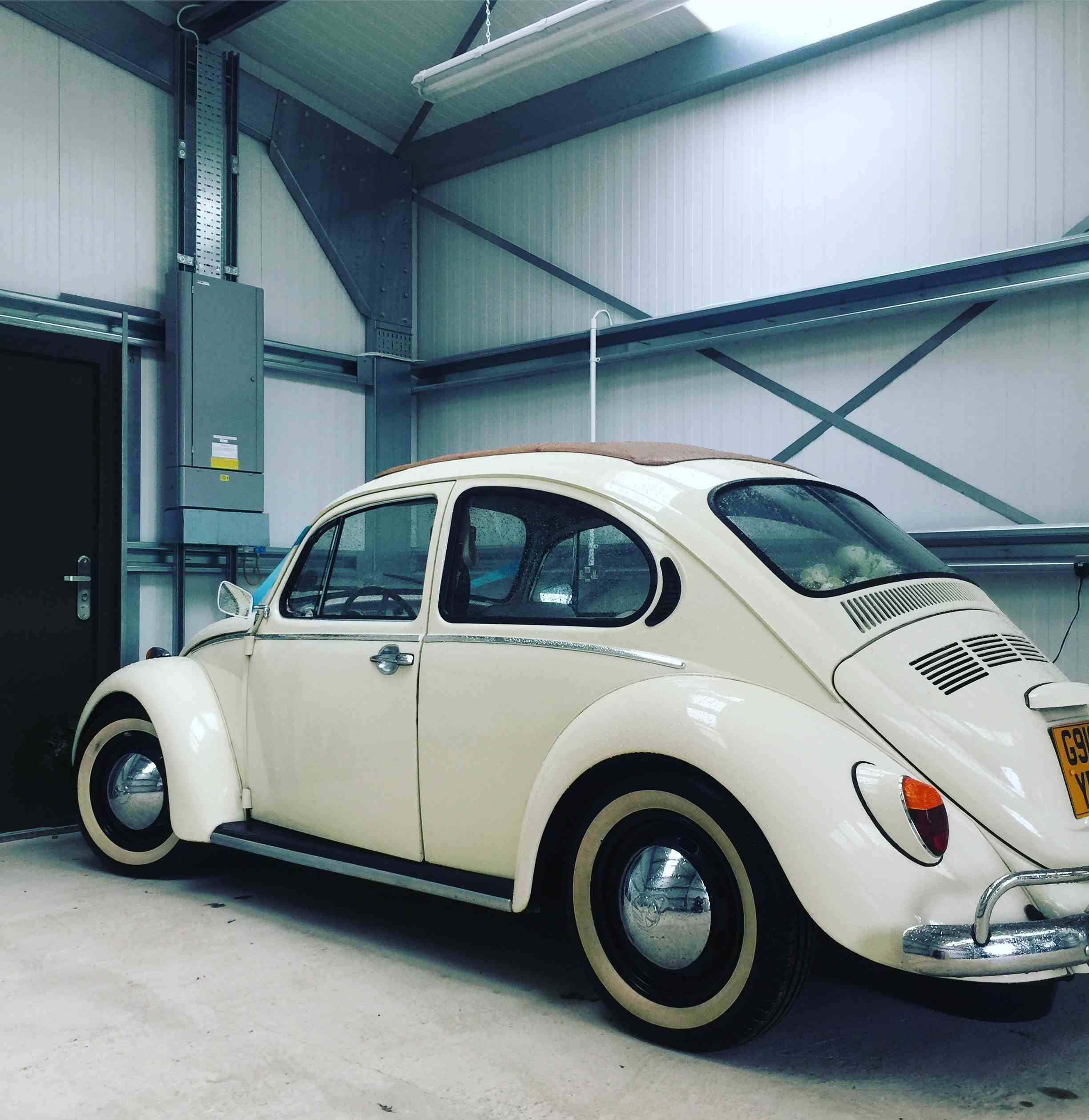 VW Beetle weddig car Surrey