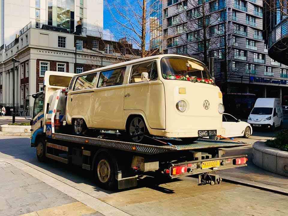 VW Camper transporter services