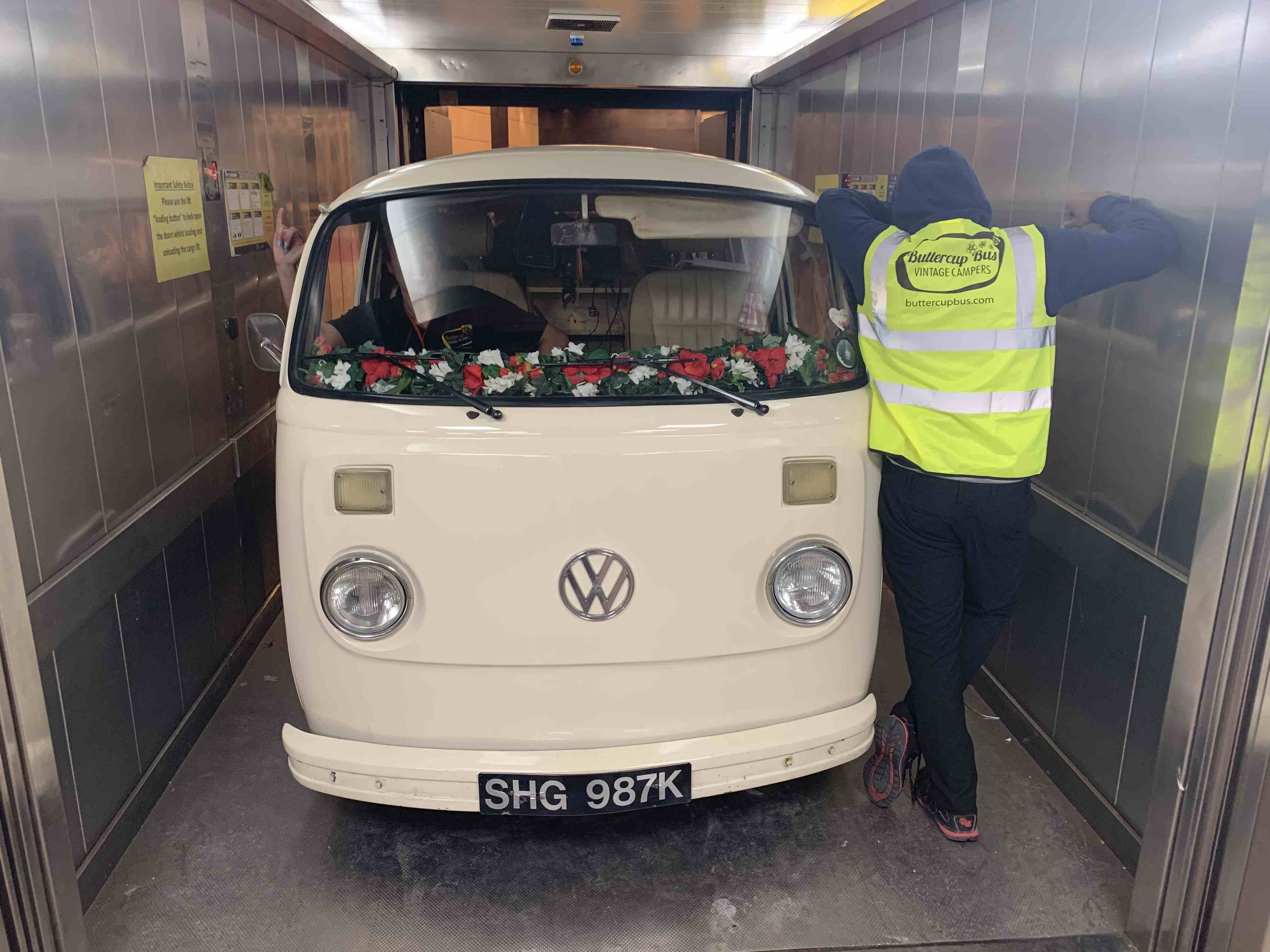 Campervan hire for corporate hospitality