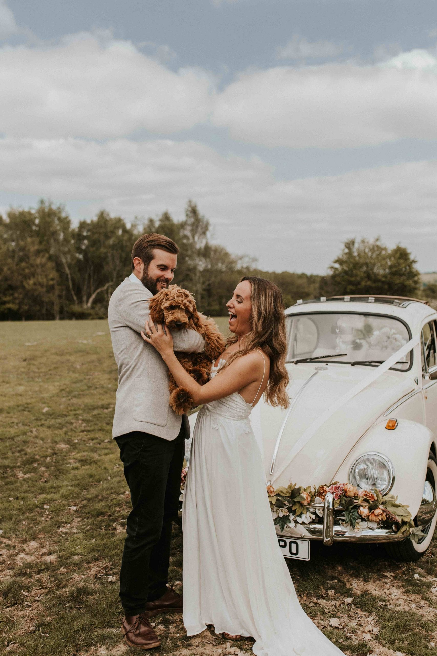 sussex wedding car hire vw beetle