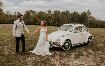 Showcasing our sussex wedding car hire services