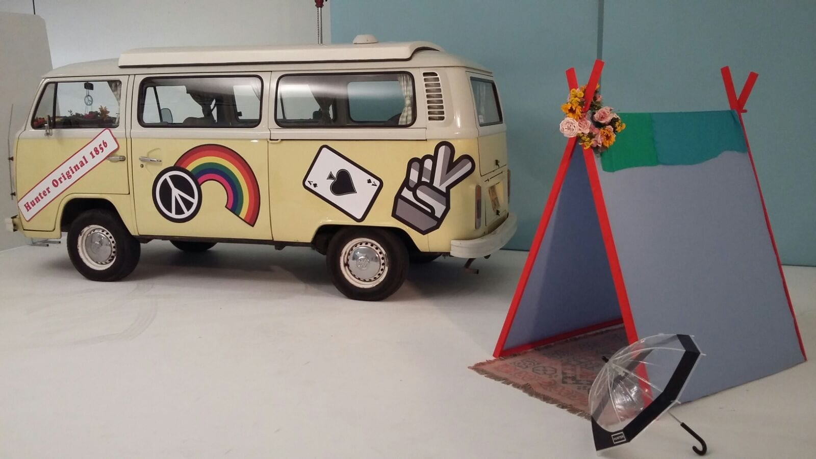 London branded classic campervan hire