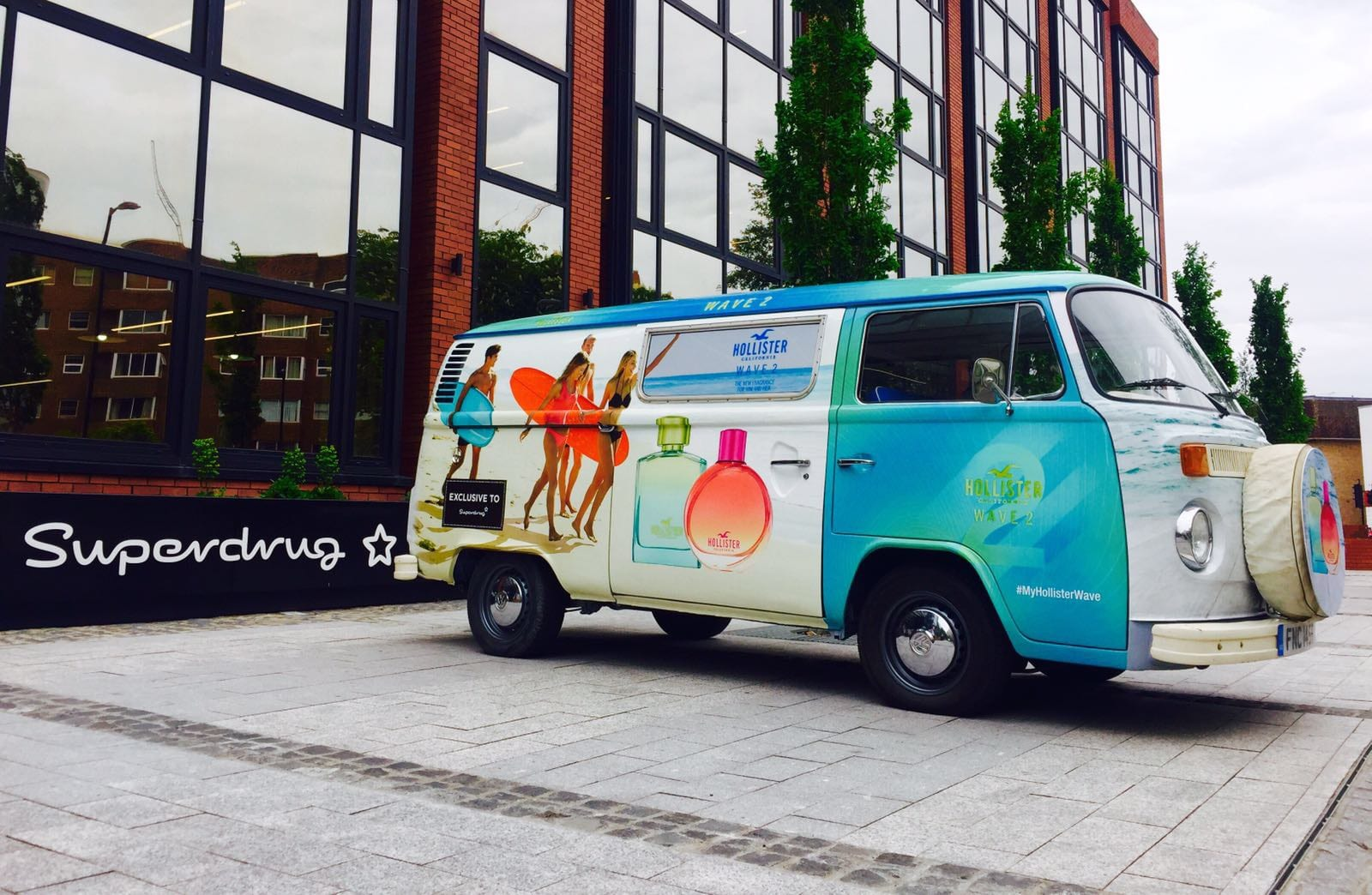branded classic campervan hire