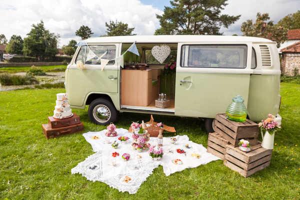 classic campervan hire London