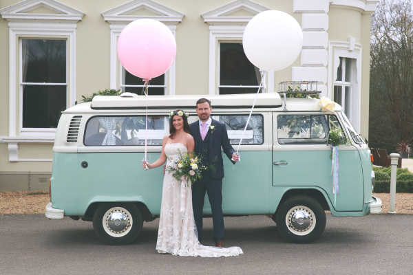 Belinda Bus Classic Campervan Wedding Car Hire Surrey