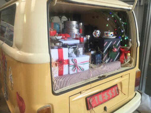 Branded Campervan Marketing Campaign in London – Alessi