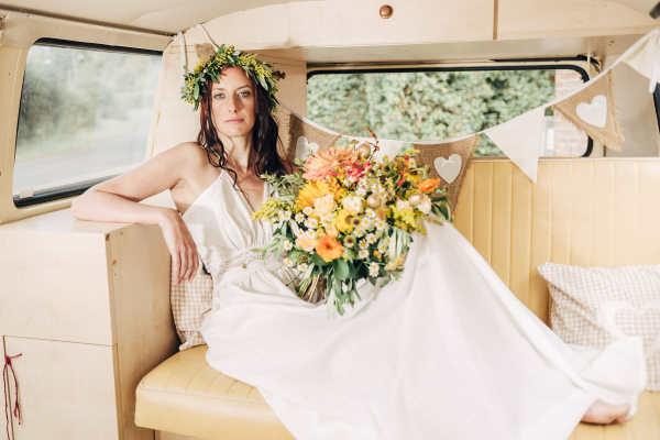 campervan wedding car London