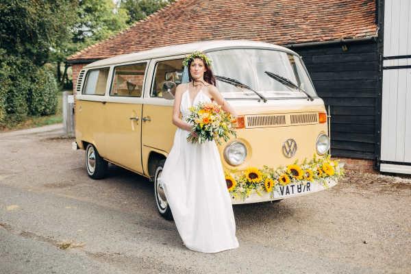 VW Camper wedding car hire kent