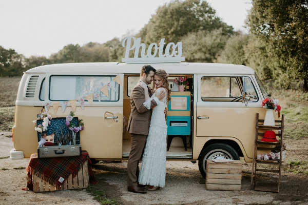campervan photobooth kent