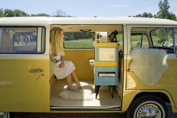 campervan photobooth surrey