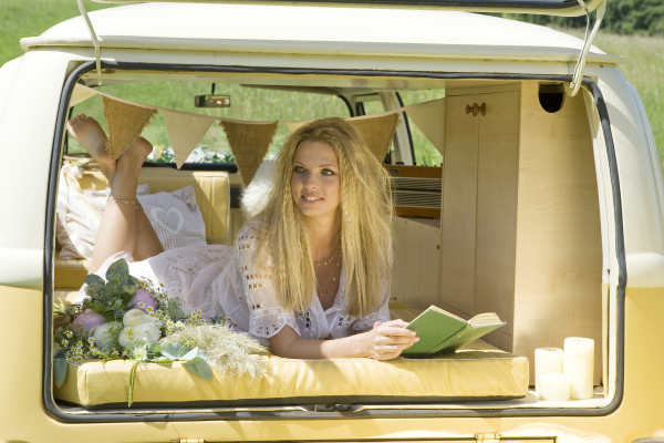 Campervan wedding car hire Surrey
