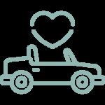 Campervan and beetle wedding car hire