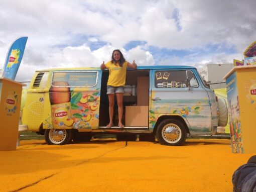 VW Camper Photobooth Brand Activation