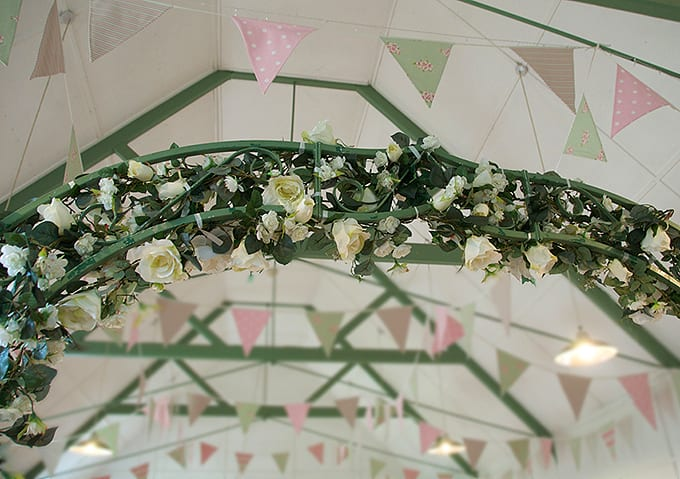 Blue Sky Bunting hire in Kent