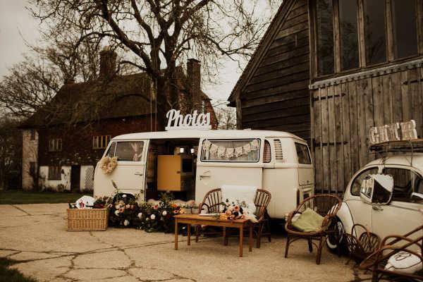 Campervan photobooth Sussex