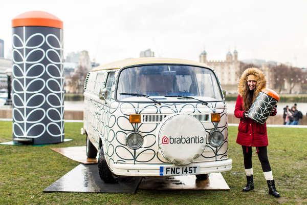 Branded campervan hire London